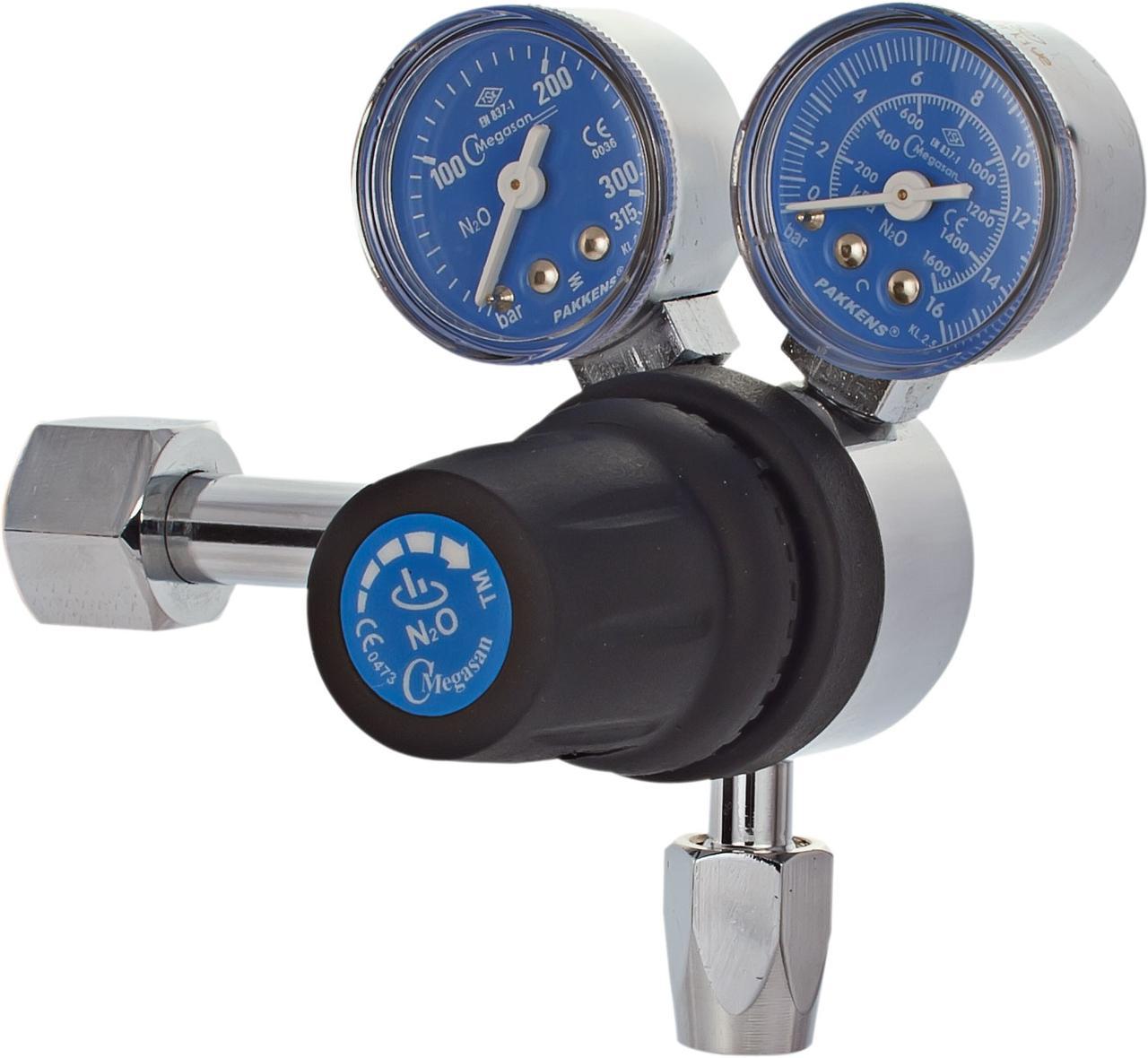 Регулятор высокого давления балонный, закись азот