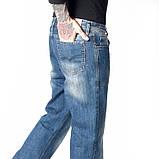 Мужские джинсы классические Franco Benussi 1058 синие, фото 3