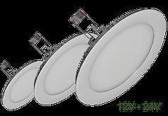 Встраиваемые светильники 12V-24V