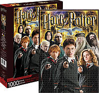 Пазл головоломка для взрослых - Гарри Поттер, Рон Уизли, Гермиона Грейнджер (коллаж) - 1000 шт.
