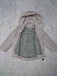 Демисезонная куртка-жилетка для девочки, фото 4