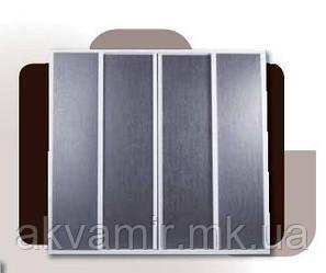 Штора на ванну из полистирола (4-створки) 130х140 см
