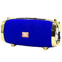 ➚Колонка BL JBL M228 Blue стерео акустика Bluetooth мощные динамики беспроводная емкая батарея