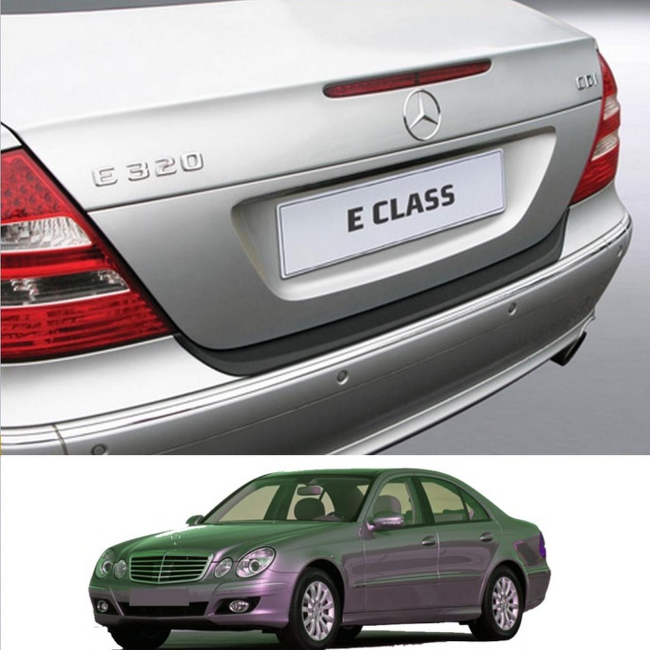 Mercedes-Benz E-Class W211 2002-2009 пластиковая накладка заднего бампера