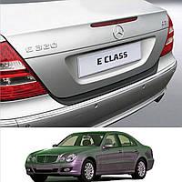 Mercedes-Benz E-Class W211 2002-2009 пластиковая накладка заднего бампера , фото 1