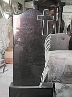 Памятник из гранита с тюльпанами №12
