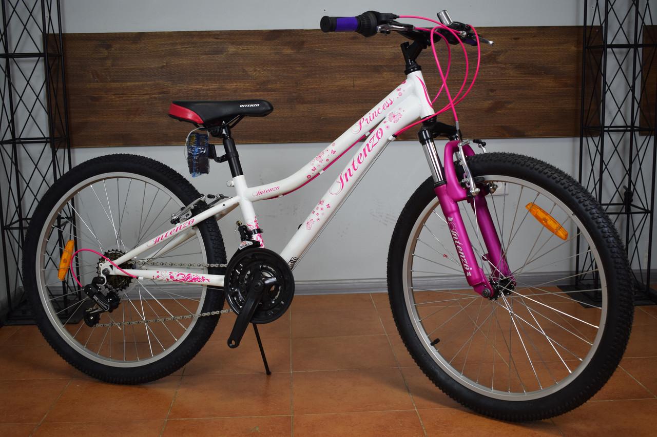 """Подростковый горный велосипед 24"""" Intenzo Princess"""