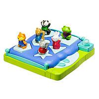 Развивающая игрушка сортер «Животные прыгают на кровати» Bright Basics Shape-Sorting Popper
