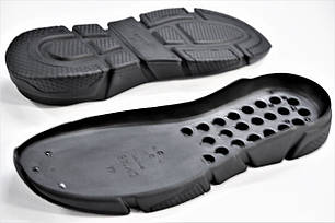 Подошва для обуви СМ146 черная р.40-45, фото 2