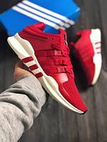 Мужские кроссовки в стиле Adidas Equipment SUPPORT ADV (red/white), (Реплика ААА), фото 1