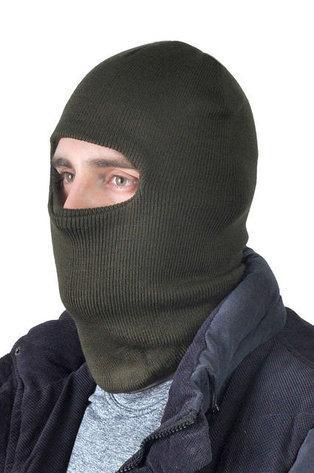 Шапка-маска вязанная, двойная