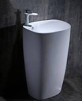 Умывальник напольный NEWARC Life 52 Белый, фото 1