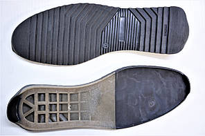 Подошва для обуви мужкая Мустанг-7 коричневий р. 42,44,45, фото 2