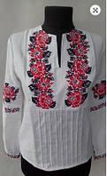 Вышиванка блуза  женская  лен 1005 ( С.Е.С.)