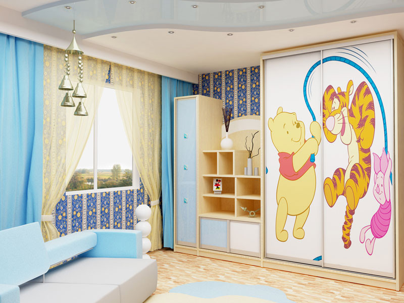 Детская комната - комплекс мебели