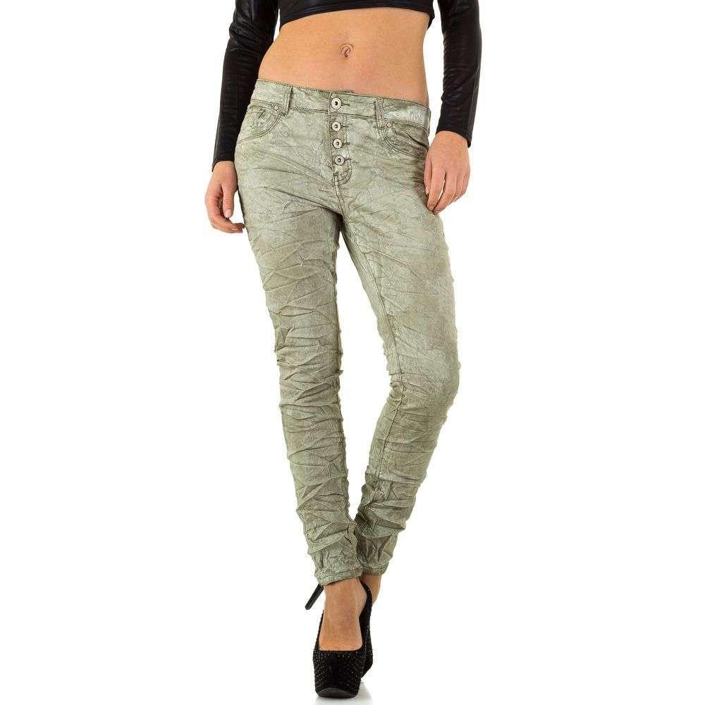Женские джинсы от New Play - L. green - KL-J-F6038-2-L. green