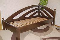 """Угловая кровать """"Радуга"""" (без изножья) 900*1900"""