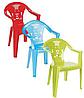 Пластиковый стул детский