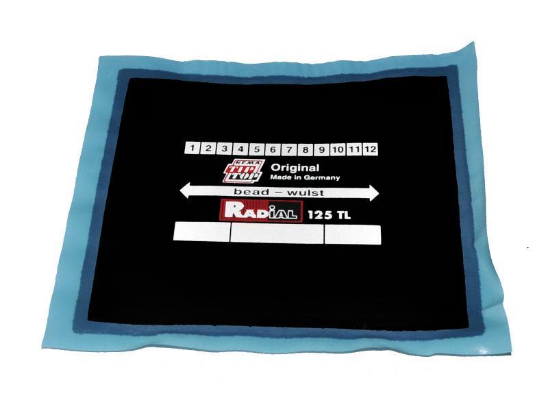 Радиальные пластыри TL 125 упаковка 10 шт. Rema Tip-Top 5121252 (Германия)