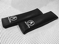 Накладка на ремінь безпеки ACURA BLACK