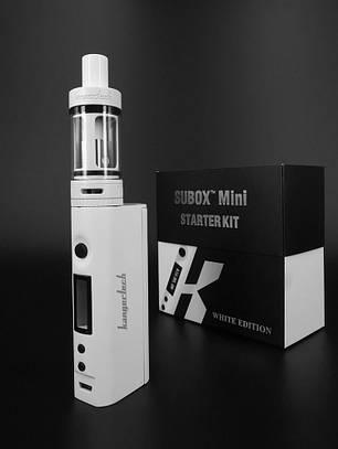 Вейп электронная сигарета Kanger Tech SUBOX Mini Starter Kit White, фото 2