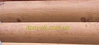"""Металлический Блок -Хаус """"Бревно тип 1"""" цвет- Ольха , Китай"""