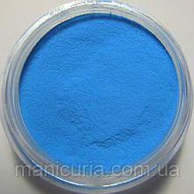 Бархатный песок, синий, светящийся.