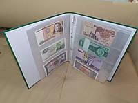 Альбом для банкнот Skiper (40 листов, на 155 банкнот)