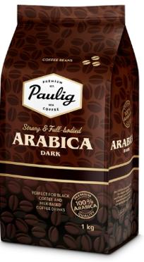 Кава в зернах Paulig Arabica Dark 1кг