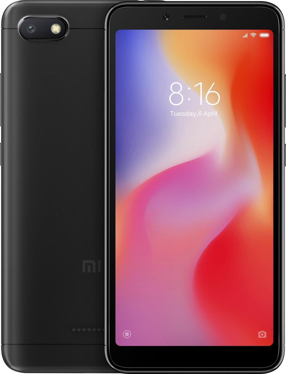 Xiaomi Redmi 6A 2/16Gb Dual Black Global Rom