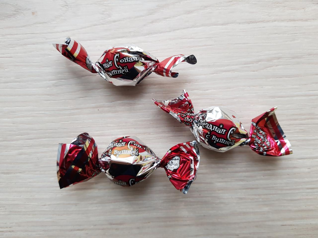 Конфеты Звездная соната с вишней 1,5 кг. ТМ Балу