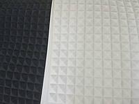 "Поролон звукоизоляционный белый  1 м *1 м ; 25 мм ""пирамида"", фото 1"