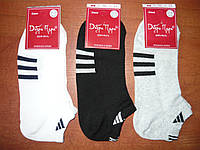 "Сетка. Женские носки ""Добра Пара"" ""в стиле"" Adidas. р. 23-25 (36-39). Ассорти., фото 1"
