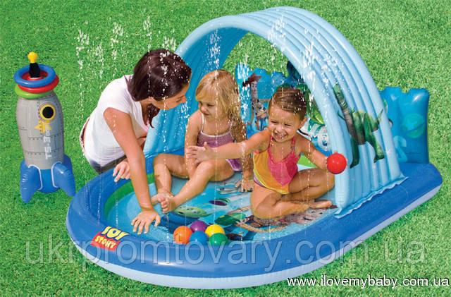 """Дитячий Ігровий центр-басейн """"Історія іграшок"""" з іграшками Intex 57127"""