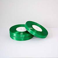 Лента атласная 25 мм., зеленая