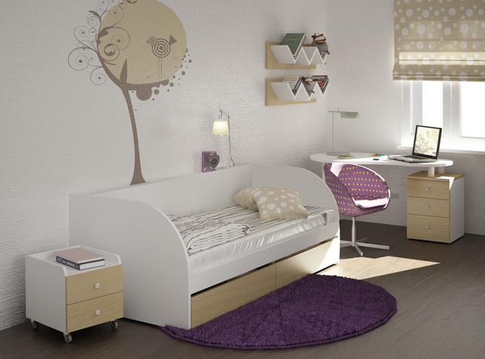 Комплект детской мебели для маленьких принцесс