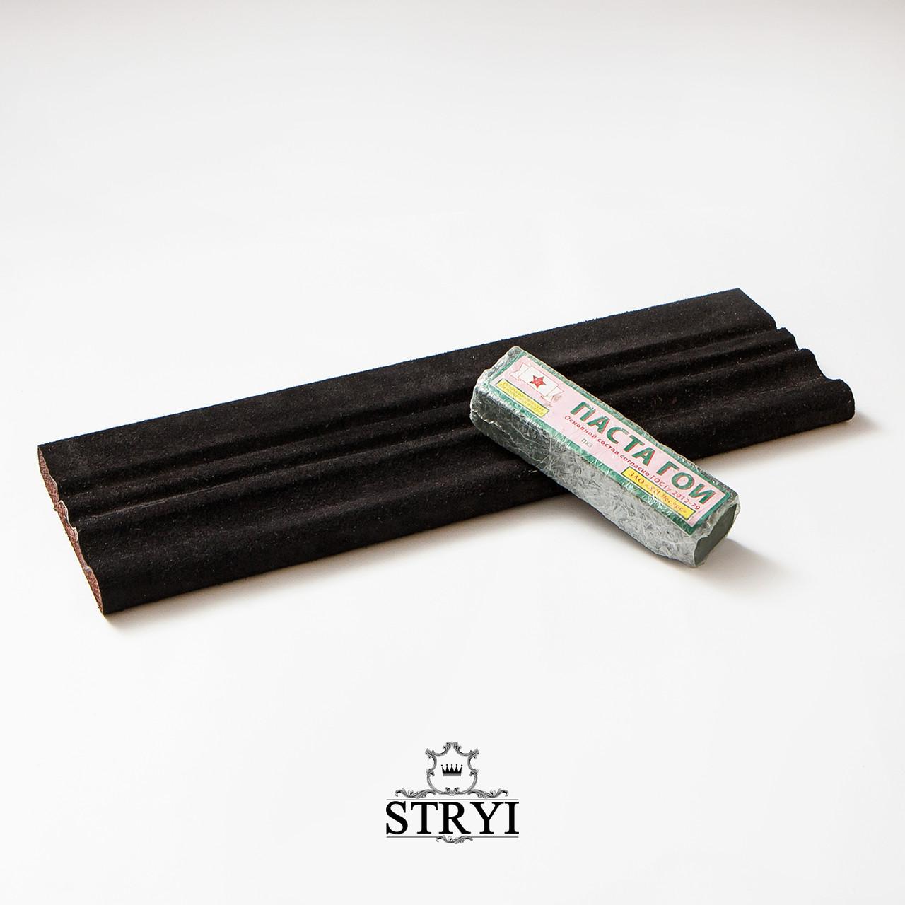 Профильный брусок для заточки, правки и доводки инструмента 40 см + Паста Гои