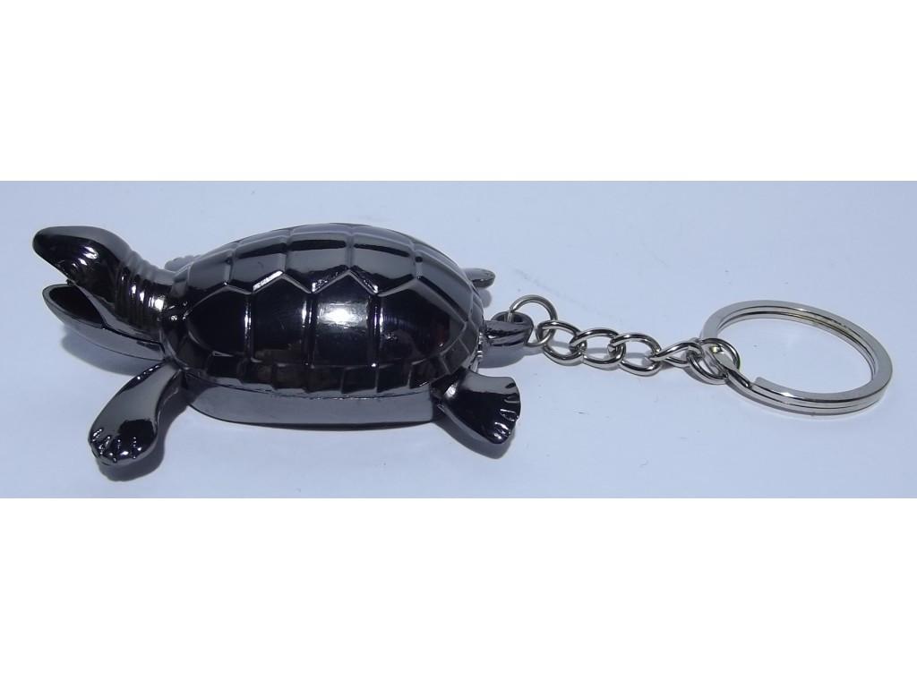 Зажигалка черепаха-брелок пламя огонек
