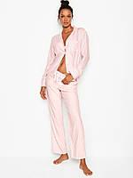 Фланелевая женская пижама Victoria Secret. Оригинал!, фото 1