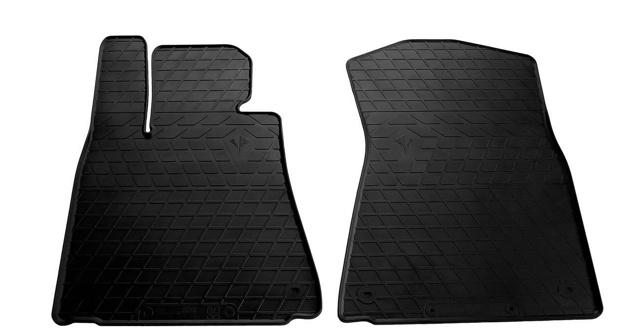 Коврики в салон резиновые передние для Lexus GS (2WD) 2011- Stingray (2шт)