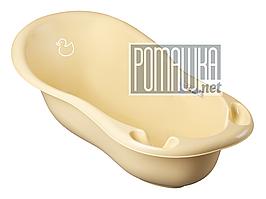 Польская детская ванночка 102х50 для купания новорожденных пластиковая Tega Balbinka TG-029 ЦВЕТА НА ВЫБОР Желтый