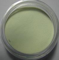 Бархатный песок, светящийся пигмент с зеленым свечением
