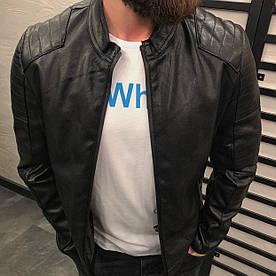 Куртка мужская кожаная (демисезон)
