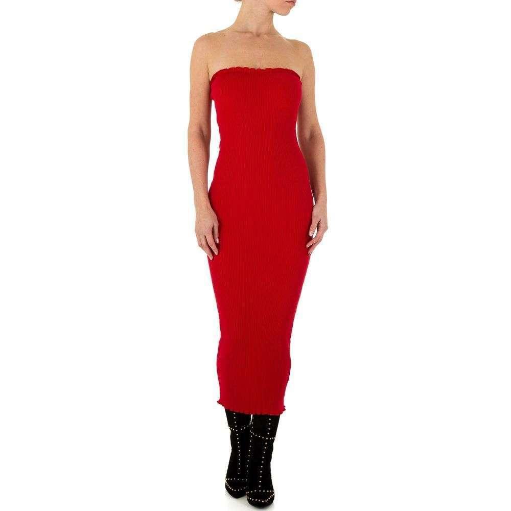 Женское платье от Shk Paris, размер One Size - red - KL-K161-red