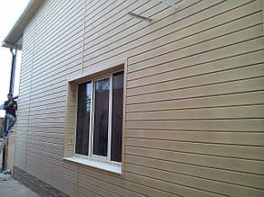 Сайдинг виниловый VOX (Вокс) ясень 3,85х0,25м, фото 2