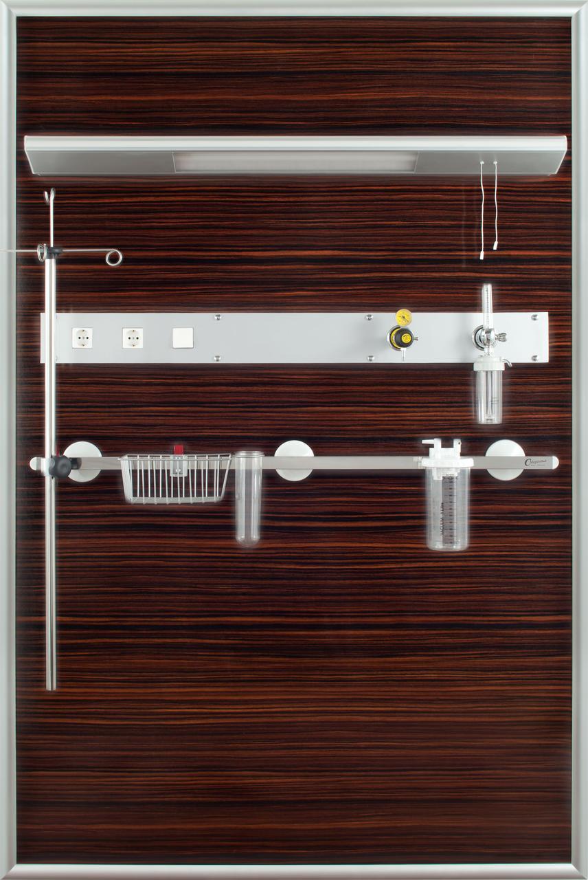 Декоративный прикроватный модуль 3