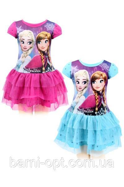 Платья для девочек оптом , Disney, 104-140 р