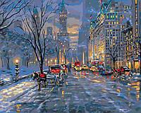 Картина по номерам Идейка Краски ночного города