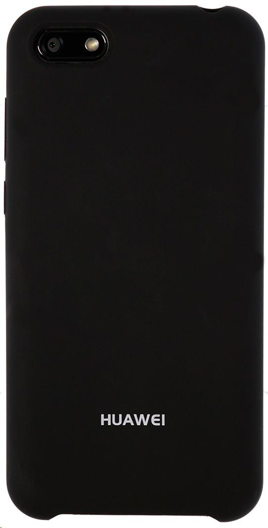 Чохол-накладка Silicone Case для Huawei Y5 2018 Чорний