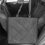 Автогамак Soolu Водонепроницаемый гамак (подстилка) на задние сидение в автомобиль. Аксессуар, фото 4